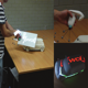 Physical-Virtual Tools for Spatial Augmented Reality User Interfaces